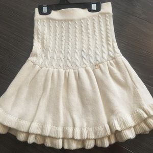Cristian Dior girls skirt